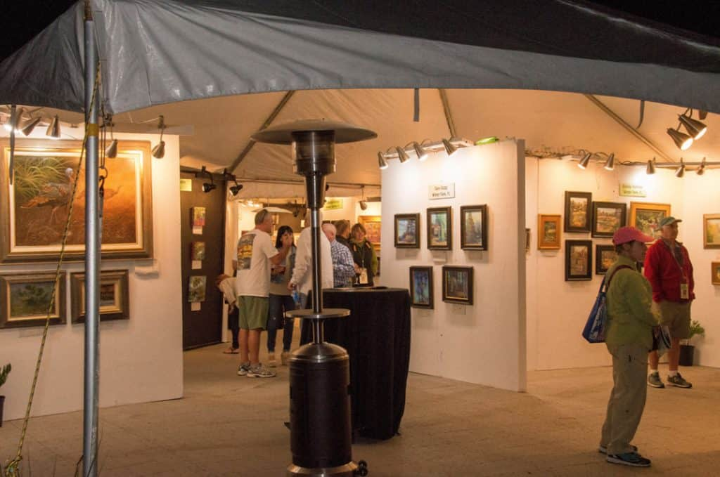 Art festival at Wekiva Island