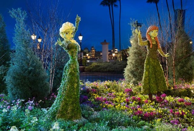 Topiaries at the Epcot Flower & Garden Festival