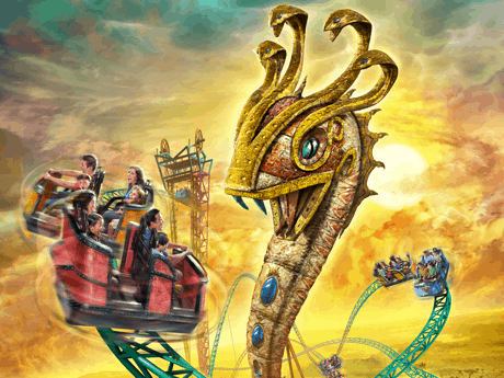 Coming attractions archives orlando tourist tips - Busch gardens tampa bay cobra s curse ...