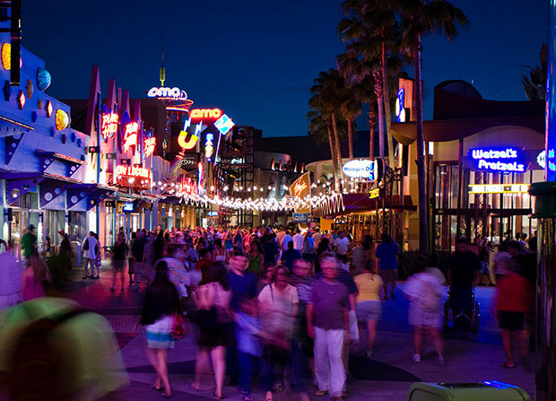 Downtown Disney Is Not Just For Tourists Many Locals Enjoy Ping And Getting Out To This Area Mix Of S Restaurants