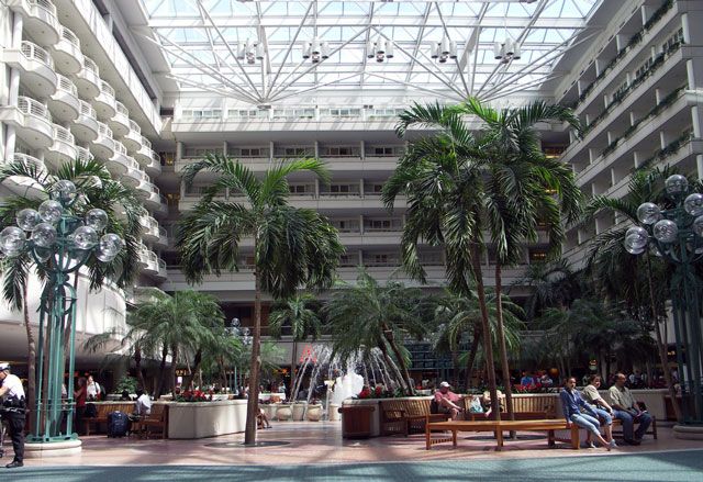 Common Area - Orlando International Airport Tips