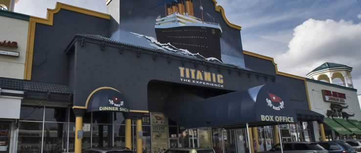 Titanic: The Experience attraction in Orlando